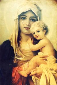 Икона Божией Матери - Взыскание Погибших
