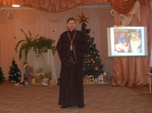 Поздравление настоятеля храма Святой Живоначальной Троицы отца Георгия