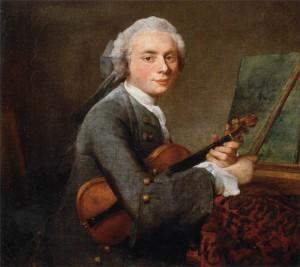 Жан Батист Симеон Шарден. Юноша со скрипкой