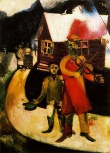 Марк Шагал. Скрипач
