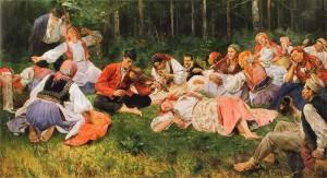 Винсент Водзиновский Жнецы на отдыхе