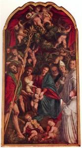 Гауденцио Феррари Мадонна апельсиновых деревьев Церковь Св. Кристофера в г. Верчелли