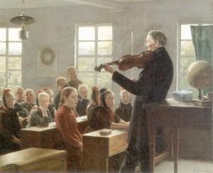 Фриц Зондерланд. Урок музыки.