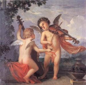 Михай Ковач. Играющие ангелочки