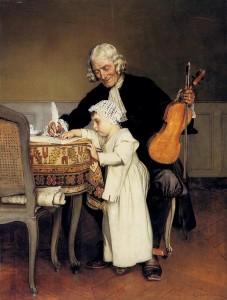 Eduard Charlemont. Урок музыки