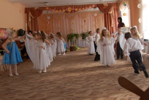 Танец тройками