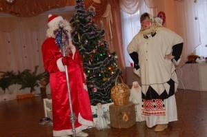 Ленивица - Дед? А подарки? Дед Мороз  - Что заслужила, то и получила.