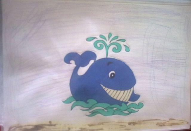 """Поделка """"Иона во чреве кита"""""""