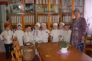 А в детском саду Христославы заглянули в каждую группу, в каждый кабинет, чтобы поздравить с Рождеством!