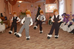 Танец лошадок