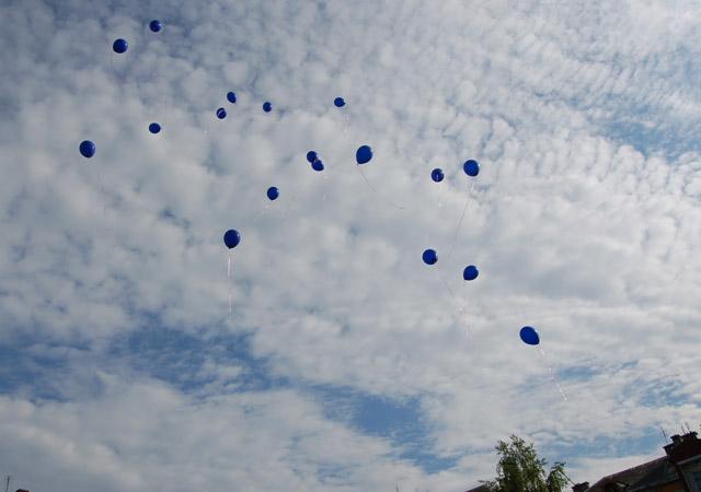 Ведущий –  Полетел воздушный  шарик Погулять по облакам! Мы по небу с ним летаем Что мы видим свысока: