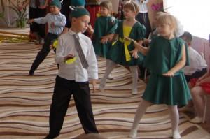 Танец лягушат