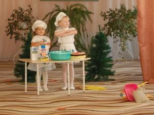 Ох-хо-хо, ах-ха-ха - Испекли мы пироги!