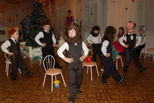 Танец мишек