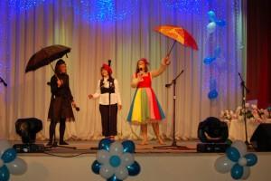 Зонтик 1 - Если же вы добродушны, послушны И уважения к старшим полны, Зонтик цветной над вами раскроет, Сказкой наполнятся сны.