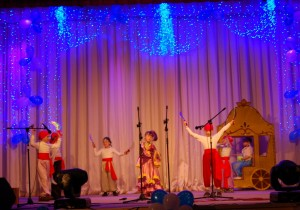 Танец Атаманши и разбойников