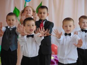 """Будем в школе мы учиться Все на """"десять"""", не на """"пять""""!"""