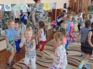 """Весло было на дне рождения группы """"Яблонька"""" и ее гостям!"""