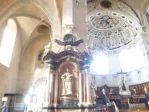 Гигантские размеры колонн, чистота и гармония сводов делают этот самый старый собор на территории Германии одним из чудес романского искусства.