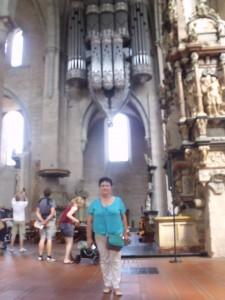 Вот так выглядит орган в Трирском Соборе Святого Петра. Зрелище потрясающее. Жаль, не удалось его услышать...