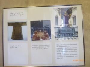 Хитон Иисуса Христа в Трир в начале IV века привезла Елена - мать римского императора Константина Великого.