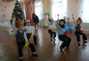 Танец «Мишки-кашевары»
