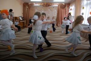 Танец с ведерками