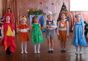 Звери, Огонь и Вода - В эту ночь рождественскую Дружно мы живем. И все мы вокруг елочки Танцуем и поем.