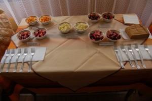 С большим успехом прошла дегустация салатов из меню дегустация салатов из меню воспитанников яслей-сада зимнего периода воспитанников яслей-сада