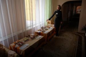 """Все с удовольствием посетили выставку """"Правильное питание - основа процветания"""","""