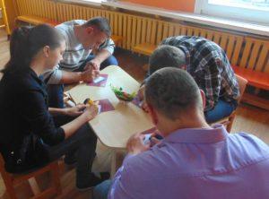 Мастер-класс проводит руководитель физического воспитания Хамутовский Александр Игоревич