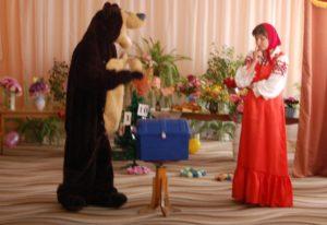 Маша - А зачем оно тебе? Медведь - Зачем, зачем, чтобы сундук открылся. Он без этого слова не открывается.