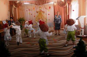 Танец рабінак і грыбочкаў